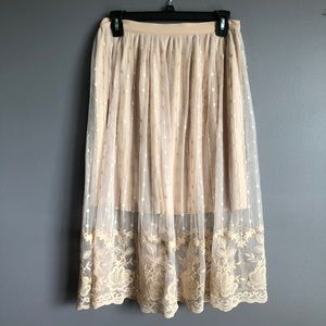 Forever 21 • Contemporary Lace Skirt